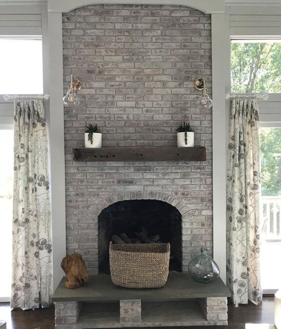Farmhouse Style Fireplace